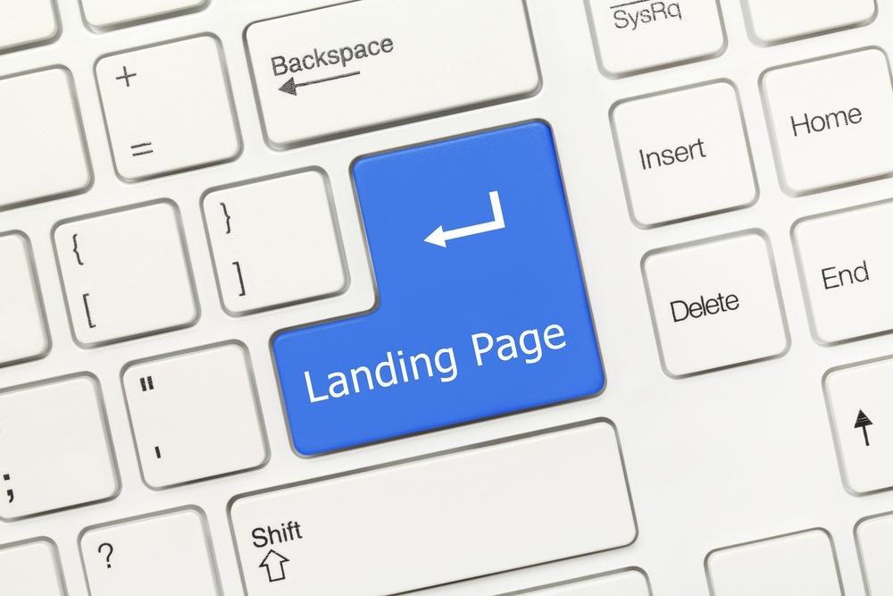 inbound marketing landing pages digital standout keyboard