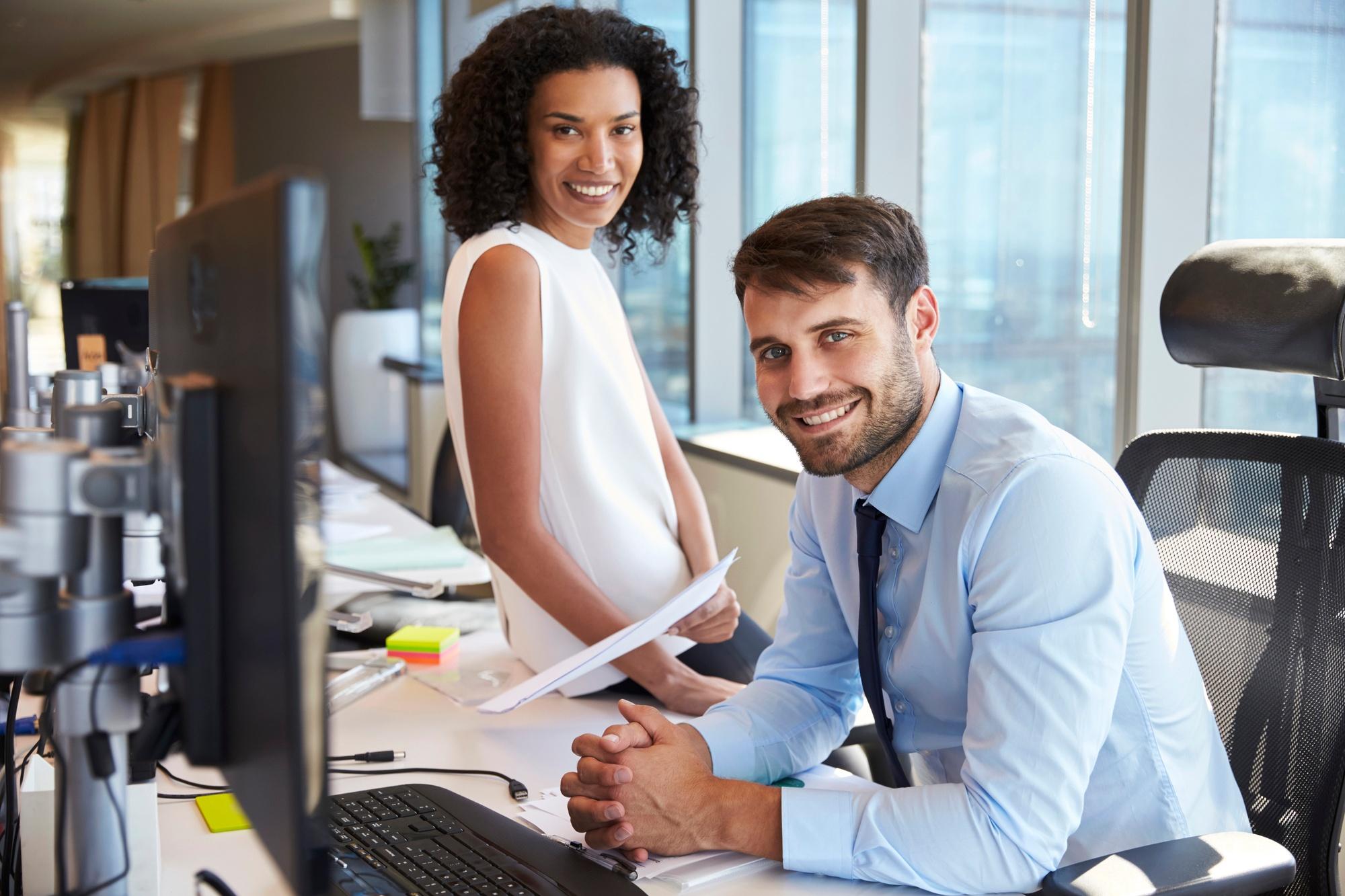 marketers at work landing pages inbound marketing